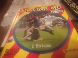 album de liga 1988