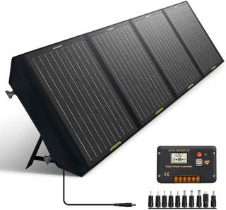 ECO-WORTHY Panel Solar Plegable de 120W