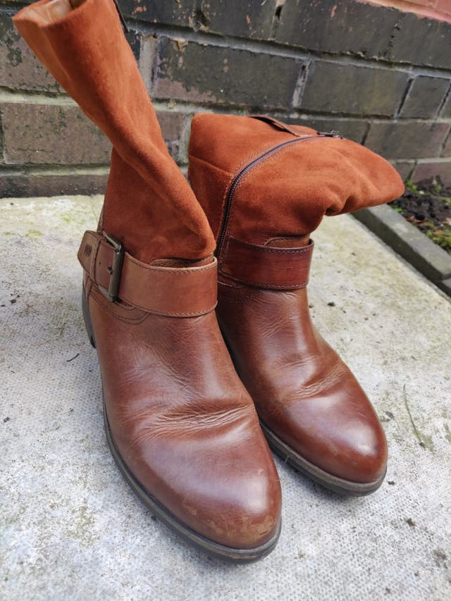 Italian Leather Boots (made in Milan)