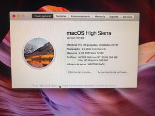 """Mac book pro 2010 15"""""""