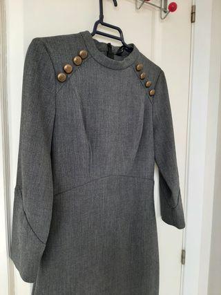 Vestido midi Zara Woman