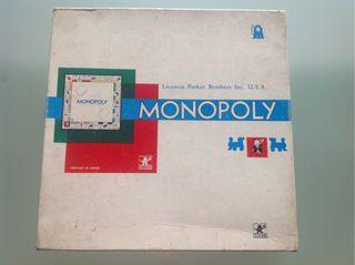 Monopoly antiguo. Años 70