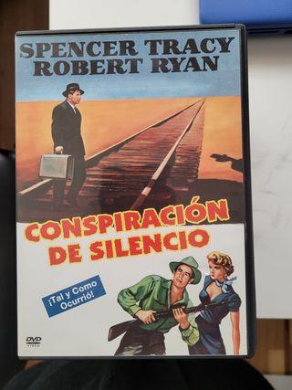 conspiración de silencio. dvd