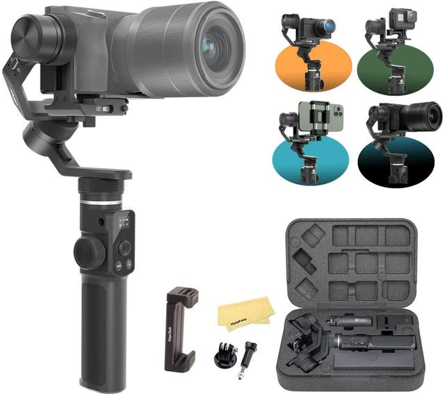 Gimbal Feiyutech G6 Max para cámaras y móviles