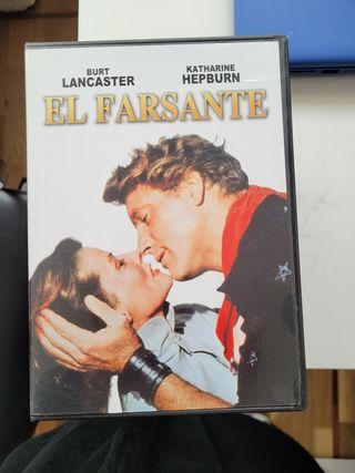 El farsante. película dvd