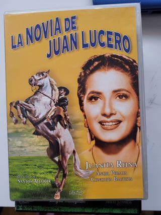 la novia de Juan lucero. dvd