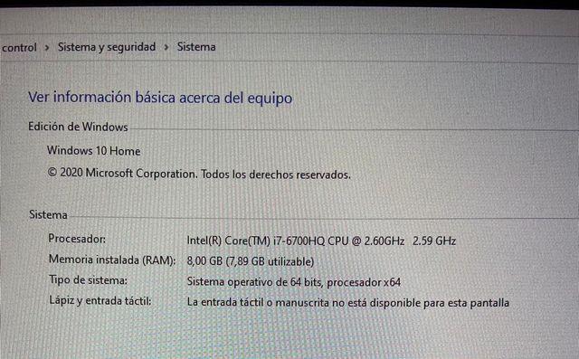 Portátil HP Omen 17-W001NS Intel Core i7