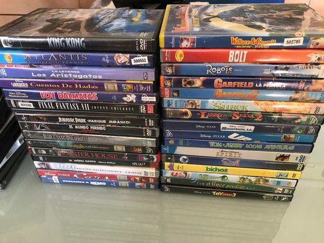 Set de películas Disney y Pixar