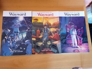 Cómics Wayward Volumen 1,2,3