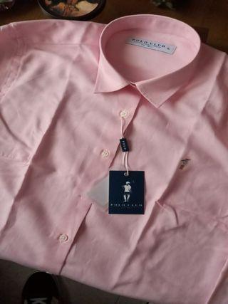 camisa polo club mujer