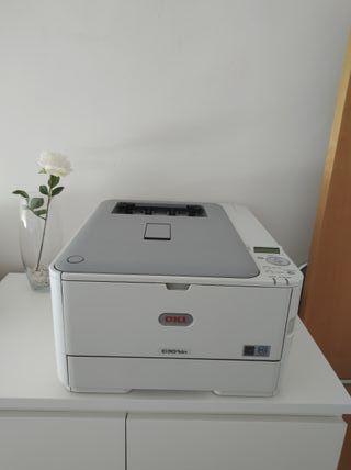 Impresora láser OKI C301dn + tóners
