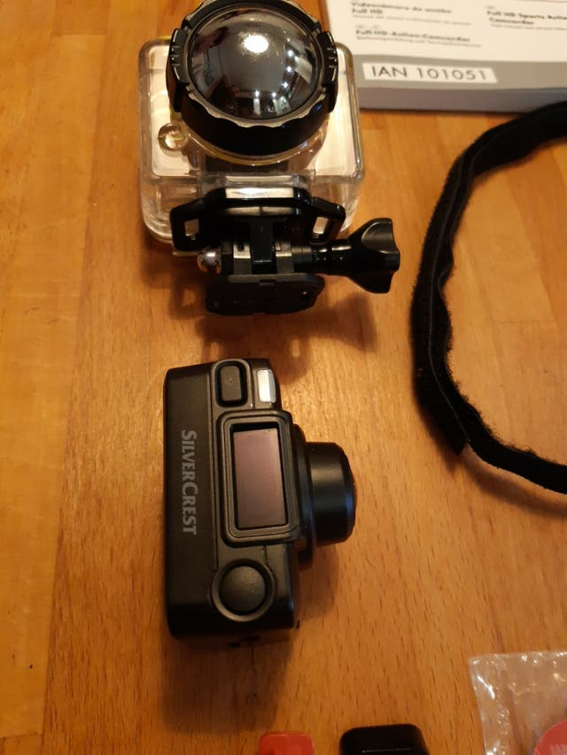 cámara de acción Full HD