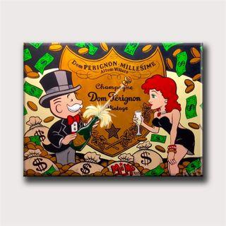 Cuadro Dom Perignon Monopoly