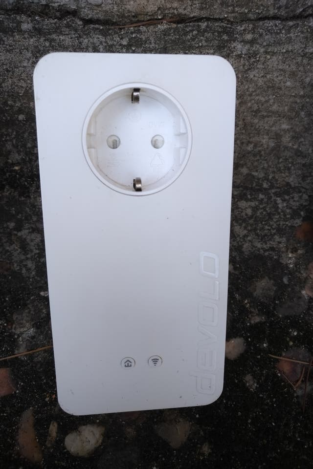 Adaptador Devolo PLC DLAN 1200+ Wifi AC