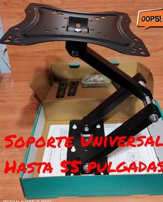 SOPORTE TV HASTA 55 PULGADAS EXTENSIBLE NEW