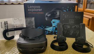 Lenovo Explorer. Gafas de Realidad Virtual. VR