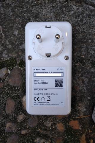 Adaptador PLC Devolo DLAN 1200+