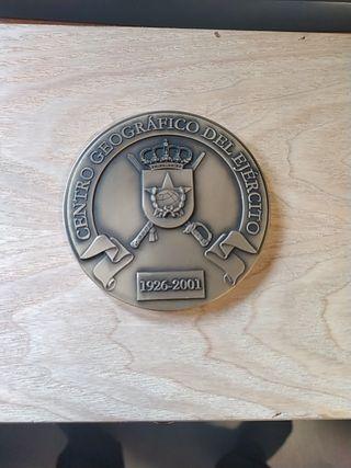 medalla del centro geografico del ejercito