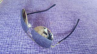 Gafas de sol espejo plateado