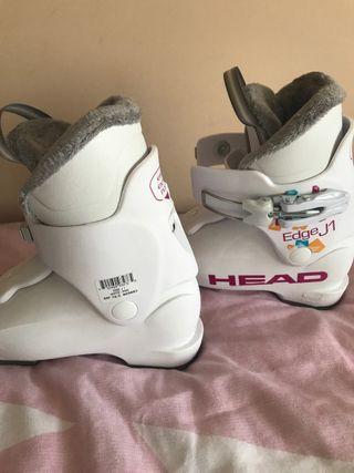 """Botas esqui niña HEAD 18.5"""""""