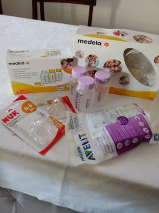 Lote Medela sacaleches