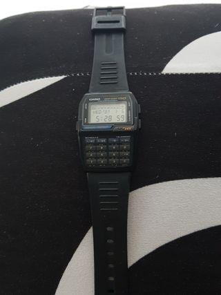 Reloj casio calculadora