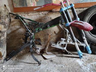 chasis pit bike