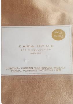URGENTE Cortina de Seda Zara home NUEVA