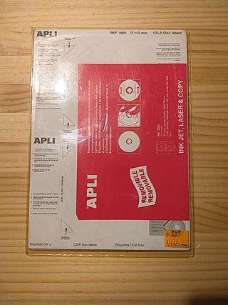 Etiquetas de CD's para impresoras
