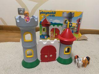Playmobil 1 2 3 castillo
