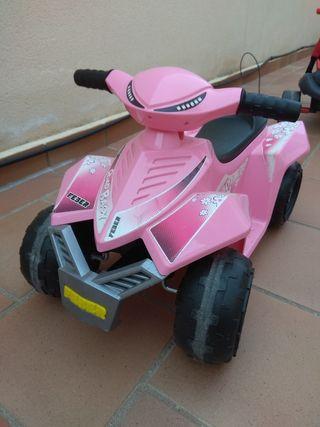 mini quad rosa