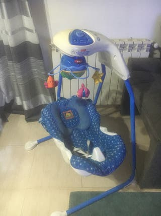 Columpio bebé eléctrico de Fisher Price