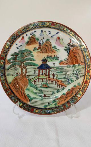 plato ceramica macao