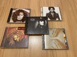 Pack 5 CDs Janet Jackson