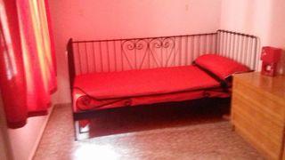 Diván cama sofá forja negro IKEA