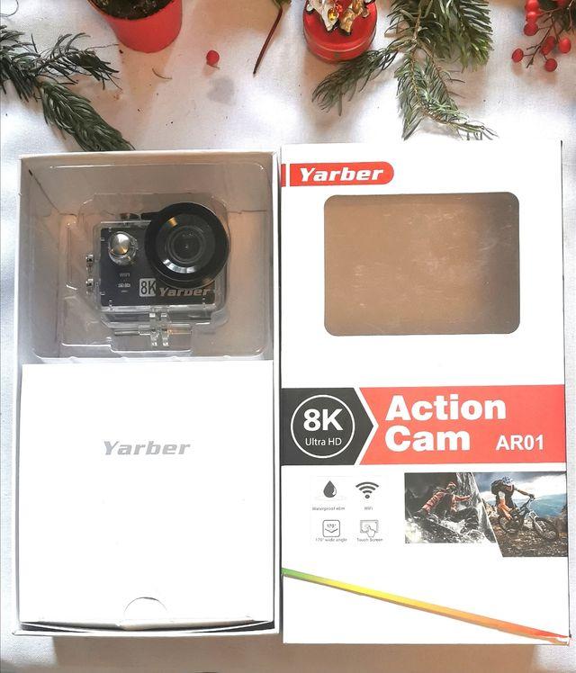 Yarber camera action 8k sport