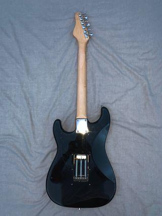 Black Electric Guitar - Stringless