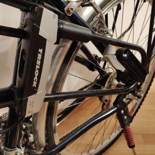 Bicicleta de paseo híbrida, ruedas de 28 pulgadas