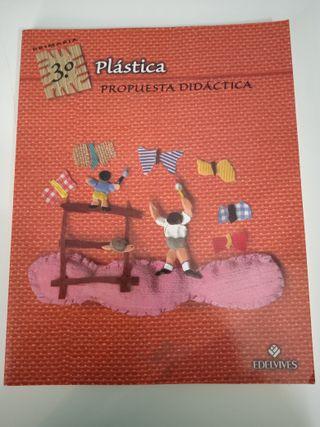 """LIBRO """"PLÁSTICA 3º PRIMARIA"""""""
