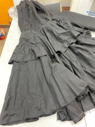 Corte falda flamenca