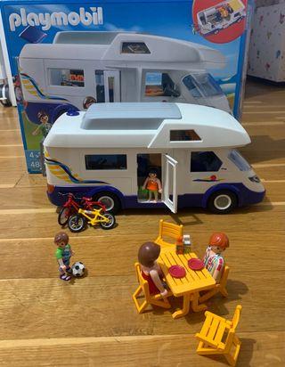 Playmobil autocaravana 4859