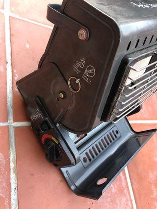Calefactor de gaz camping