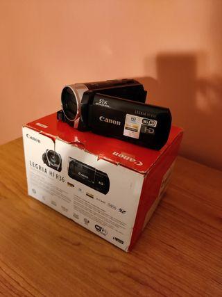 Videocámara Canon Legria HF R36 full HD