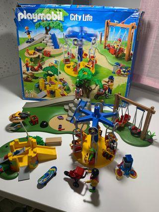 Playmobil parque de atracciones 5024