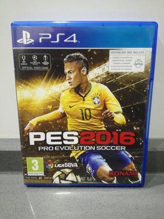 PS4 PES 2016 (PRO EVOLUTION SOCCER)
