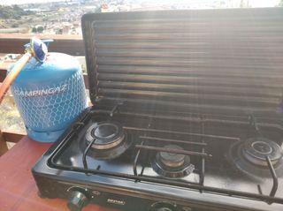 cocina de e fuegos portable a gas