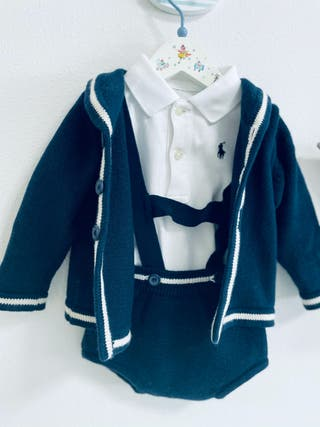 Conjunto marinero bebe niño Neck and Neck