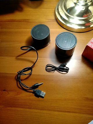 Altavoces USB (lote de 2)