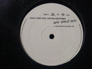 """Vinilo Paul van Dyk/Peter Heppner """"Wir Sind Wir"""