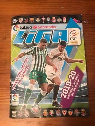 Álbum de cromos Liga Santander 2019-2020 completo